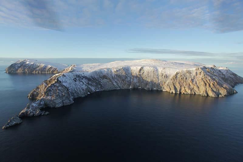 Острова Врангеля и Геральд