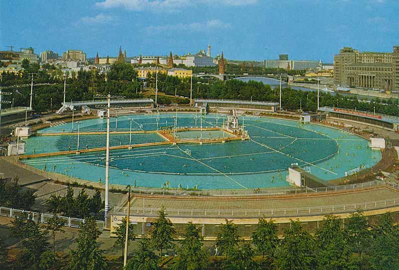 Бассейн Москва: символ столицы, который снесли