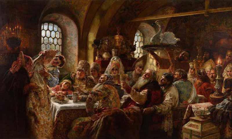 ревней Руси женихов и невест своим детям выбирали отцы