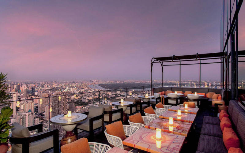 Ресторан в Таиланде на 76 этаже снова встречает гостей после карантина
