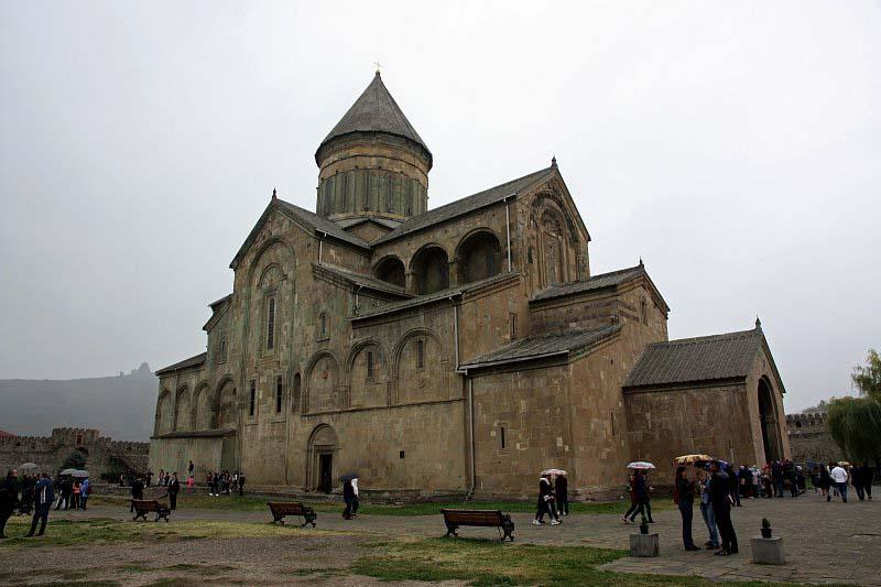 Храм Светицховели в городе Мцхета