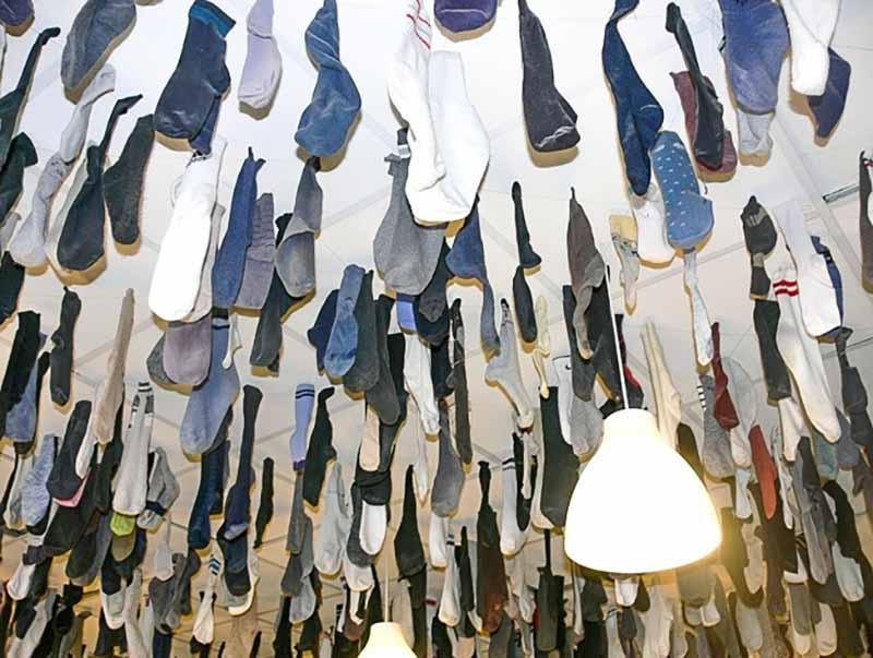 Гирлянда из носок для свободных людей в Германии и прочие традиции для неженатых или незамужних