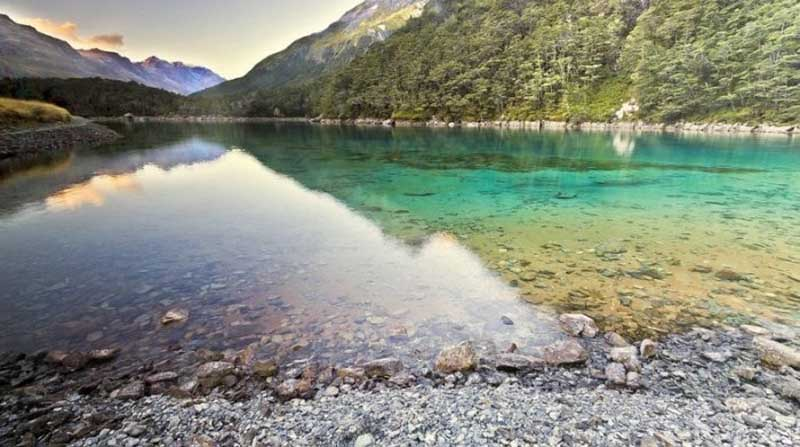 Особенности Blue Lake