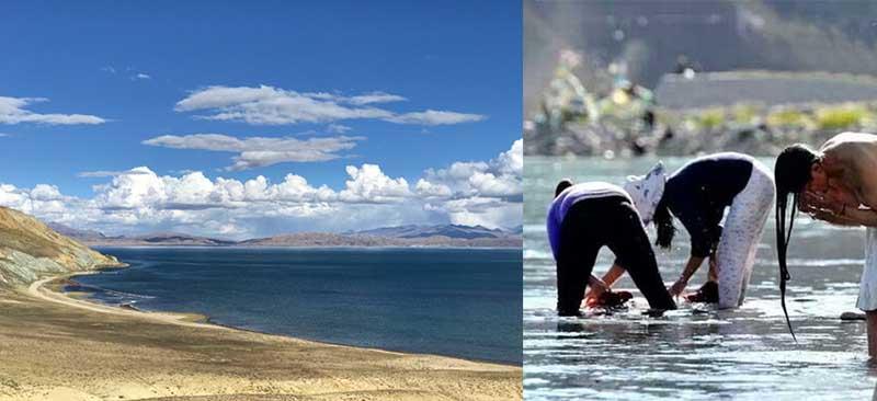 Тибет расположен в горах