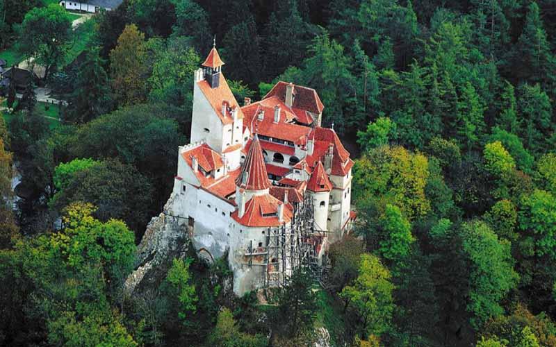 Как выглядит замок Дракулы