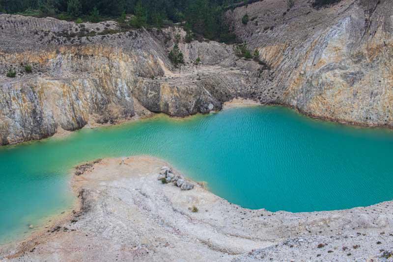Необычное озеро Испании