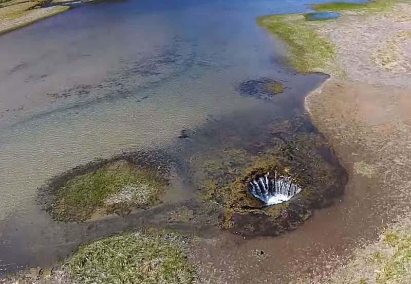 Исчезающее и восстанавливающееся озеро в США