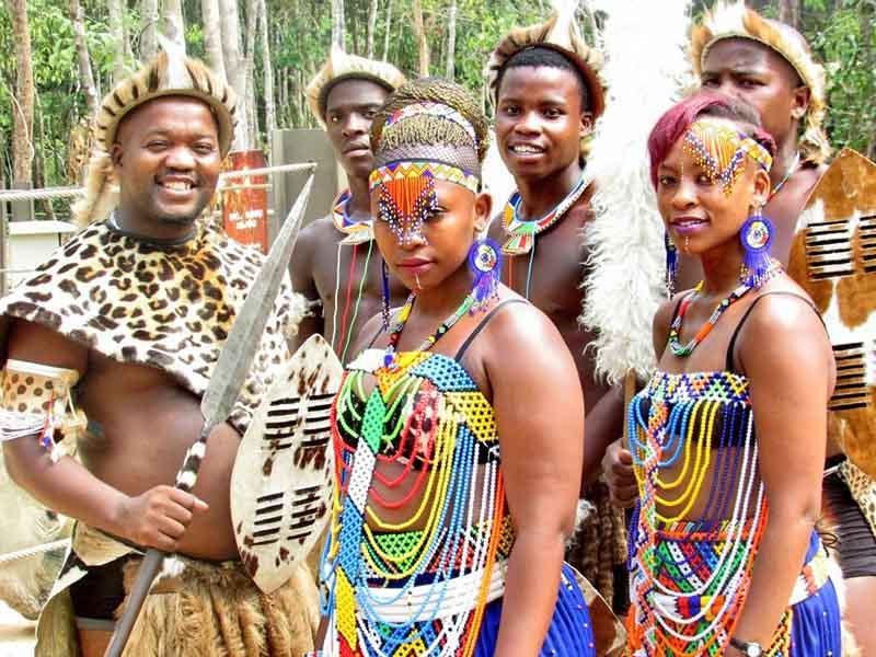 Свадьба в племени зулусов — дорогое удовольствие