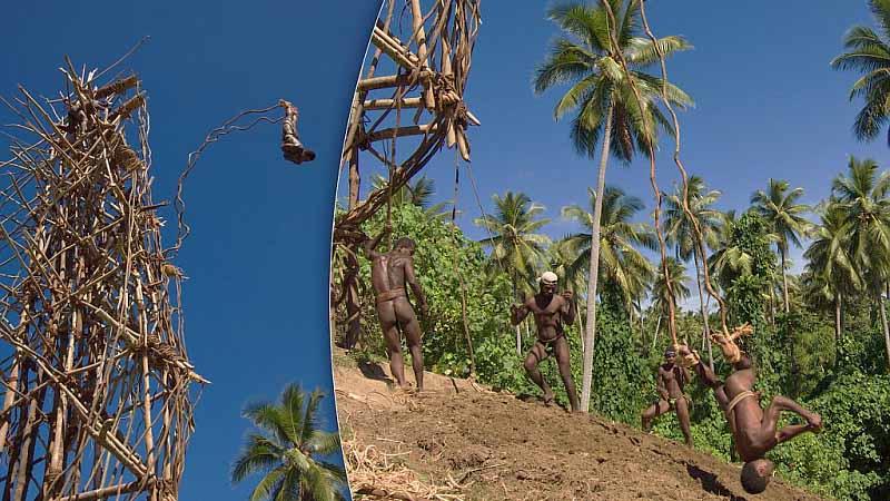 Опасный прыжок На острове Пентекост