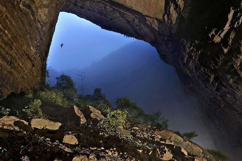 Затерянный мир в Китае, найденный на дне пещеры