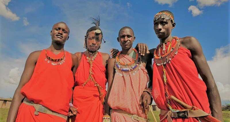 Для чего кениец после свадьбы ходит в женской одежде