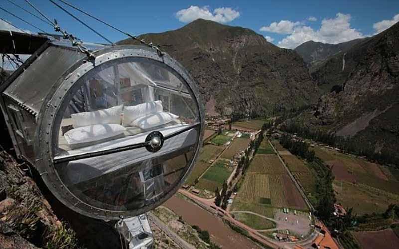 Мини-отель в Перу для настоящих экстремалов