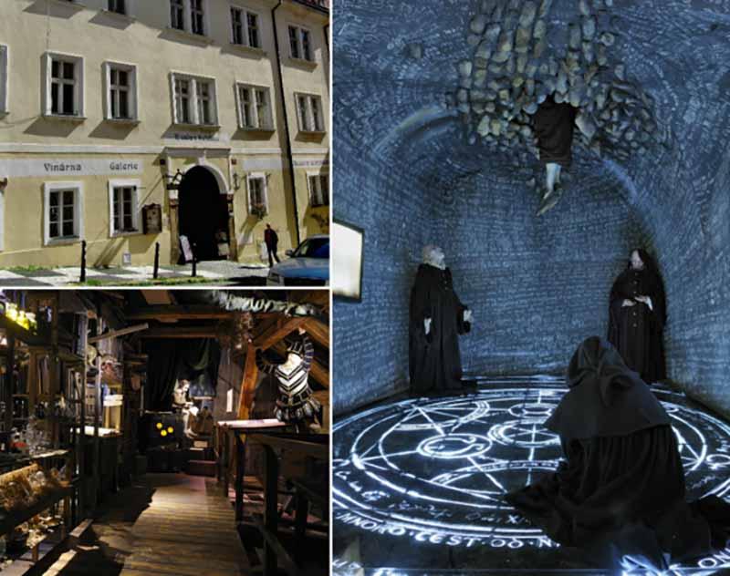 Музей магии и алхимии в Праге