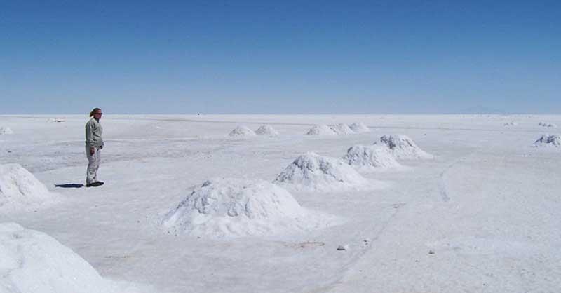 Озеро с огромными запасами соли