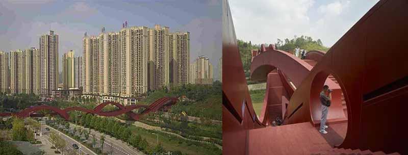 «Мост Удачи» в Китае