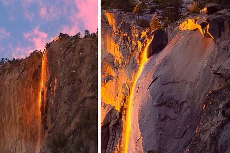 «Лошадиный хвост» находится на территории национального парка «Йосемити».