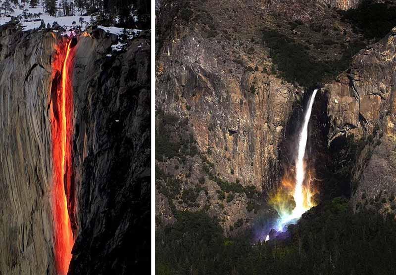 Легенда о происхождении водопада