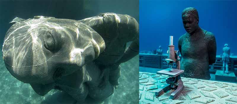 «Океанский Атлант» является неотъемлемой частью национального парка Багамов «Клифтон-Херитидж».
