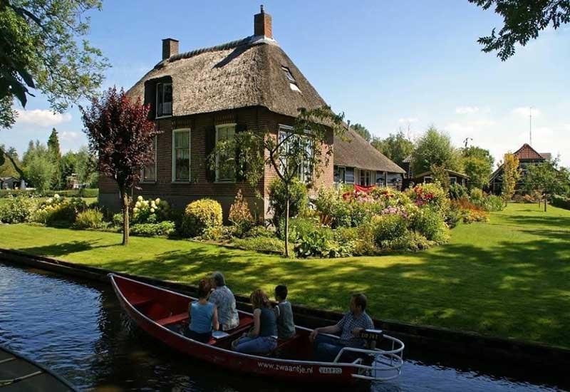 Гитхорн — прекрасная деревня, которая достойна того, чтобы ей восхищались.