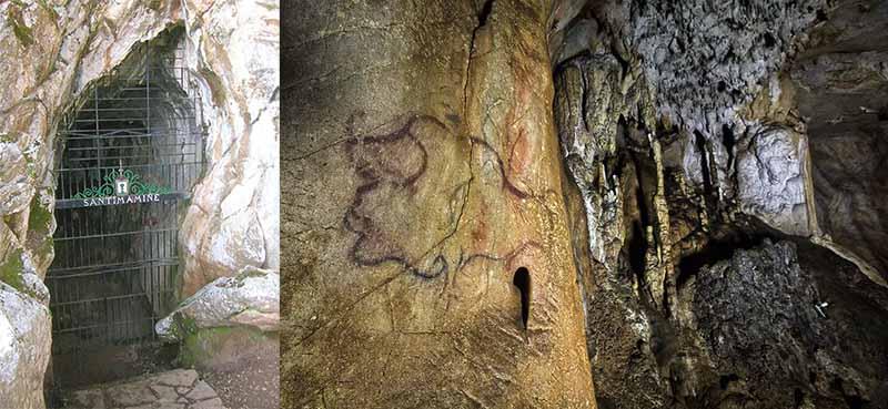 пещеру Сантимаминье