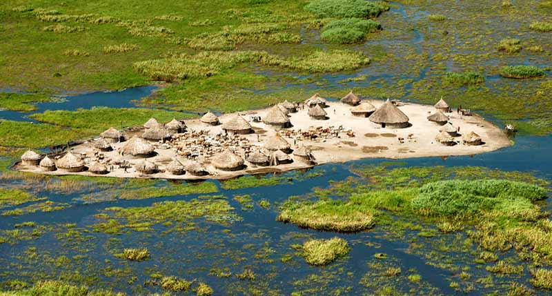 В 20 столетии власти хотели высушить часть болота, чтобы использовать земли в сельскохозяйственных целях.