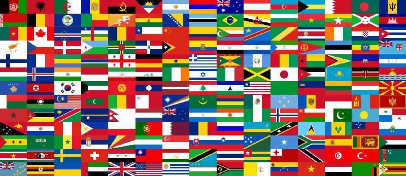 Из большого количества стран фиолетовый оттенок решило добавить государство Никарагуа.