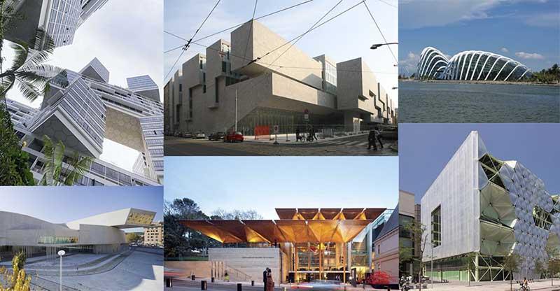 Проектов по созданию зданий с кинетической архитектурой было создано достаточно много