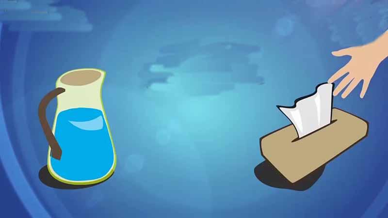 Почему мусульмане берут в уборную бутылку воды?
