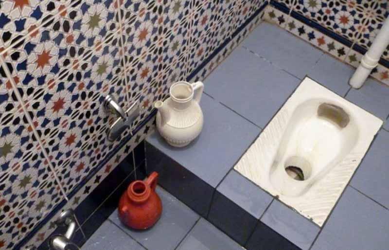Правила посещения туалета для мусульманина