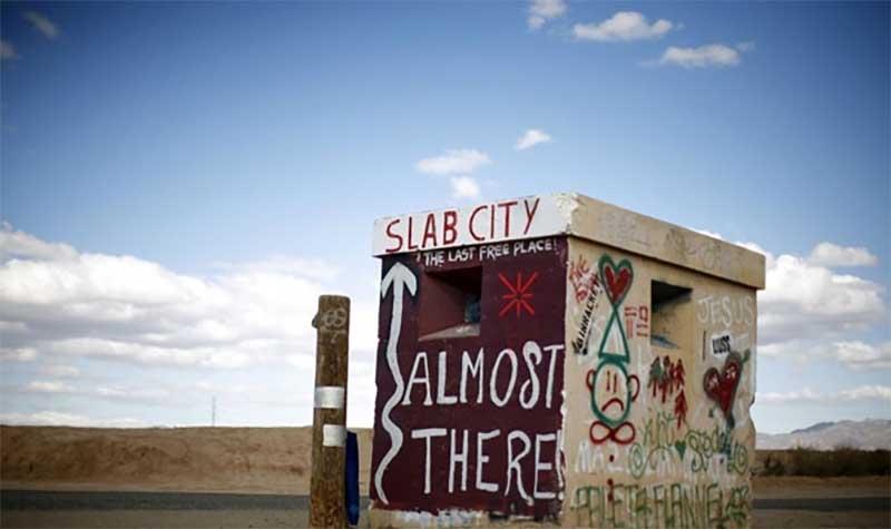 Слэб-сити: непризнанное поселение Америки
