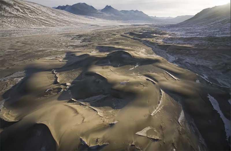 Самые сухие долины на Земле, которые напоминают поверхности планеты Марс