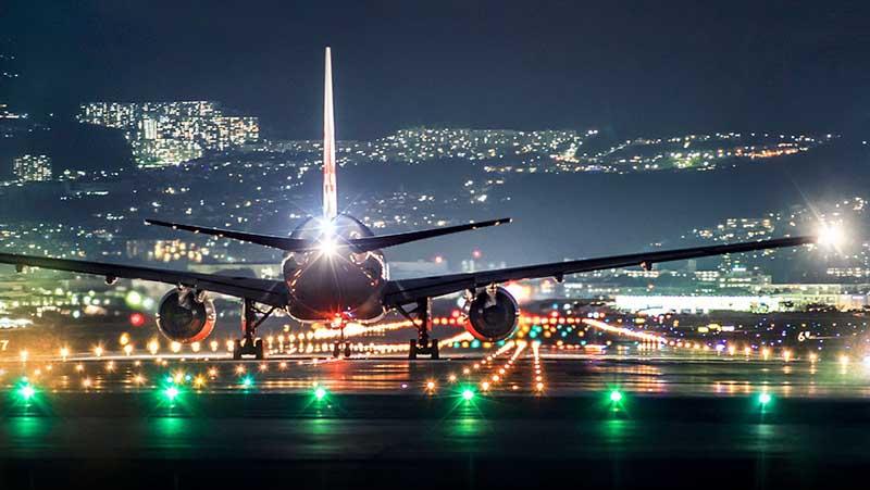 Как пилоты сажают самолет в условиях плохой видимости