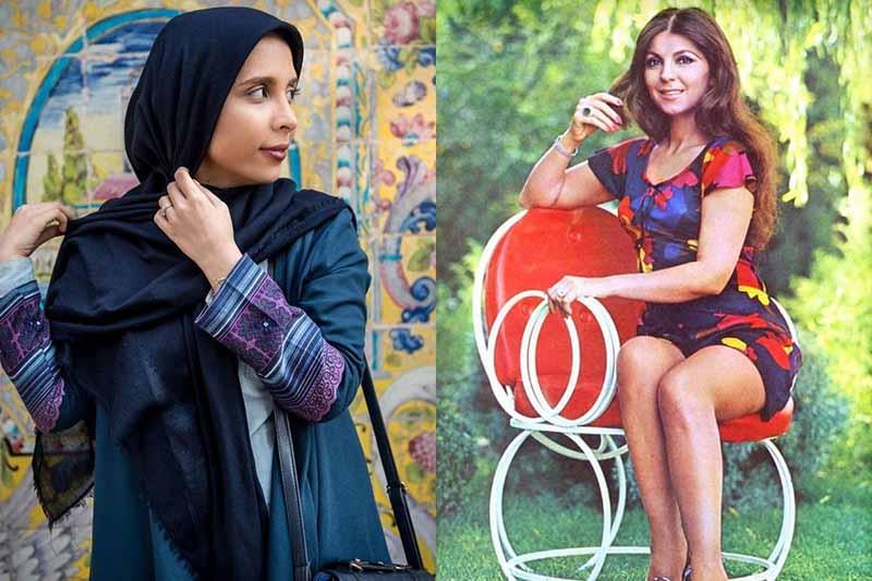 Какими были женщины Ирана до облачения их в паранджу