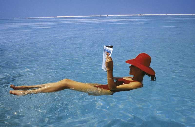 Правила купания в Мертвом море