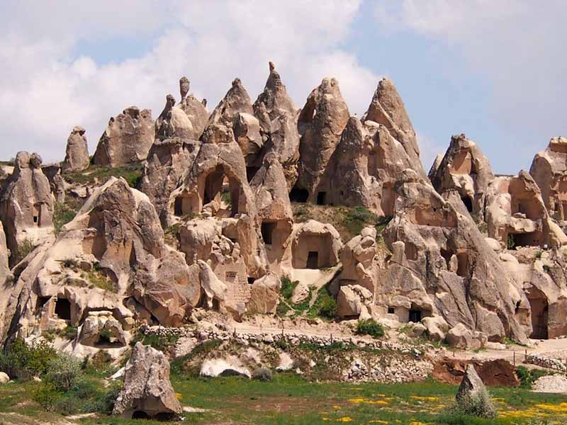 Скальные города Каппадокии