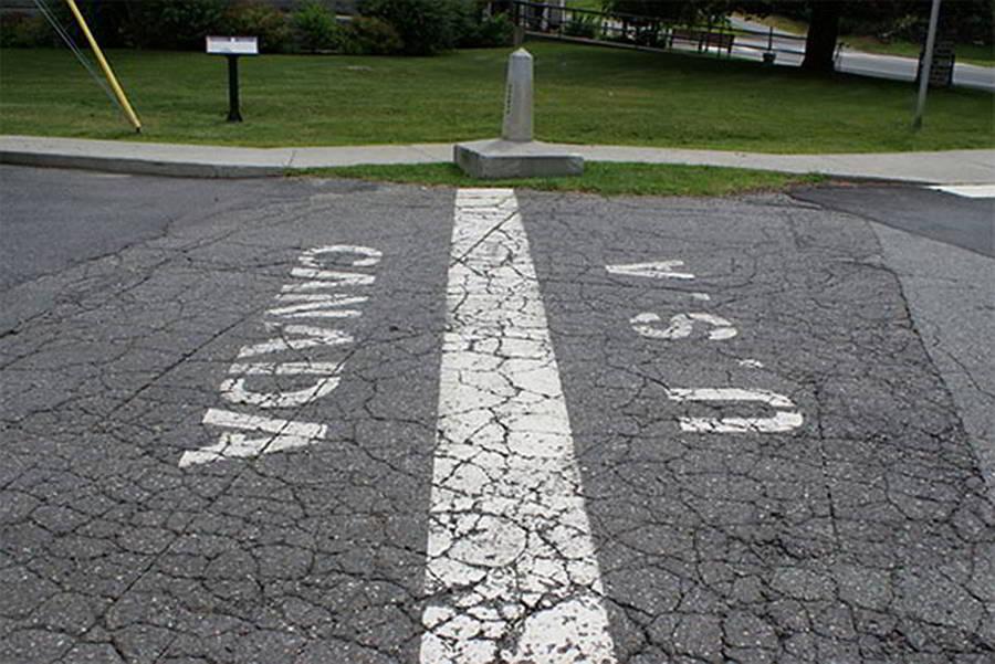 Граница между США и Канадой