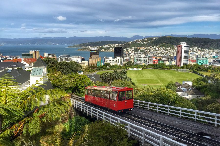 Веллингтон в Новой Зеландии