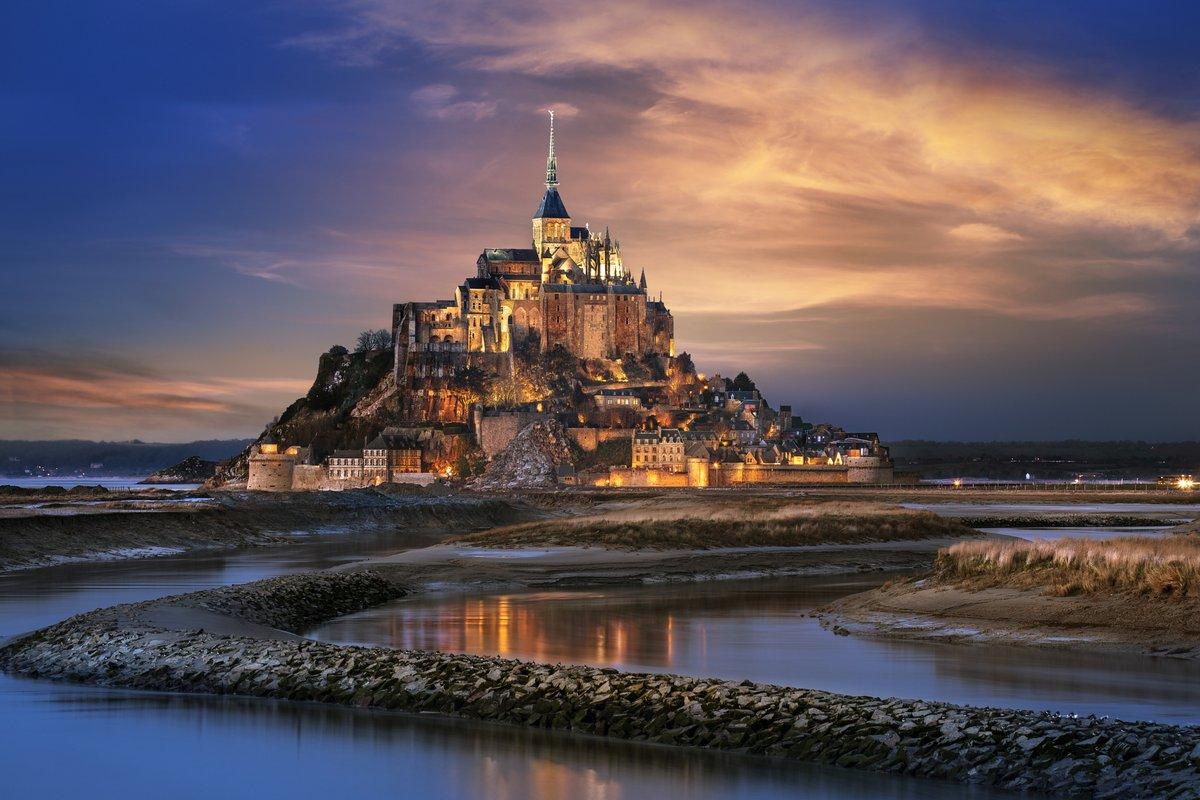 Остров-крепости Мон-Сен-Мишель