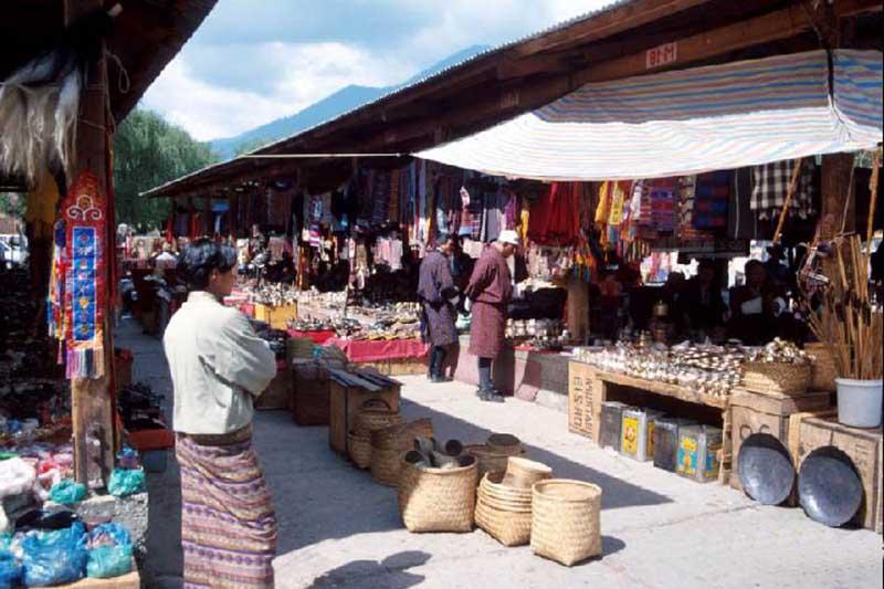 Основным продуктом потребления в Бутане является рис.