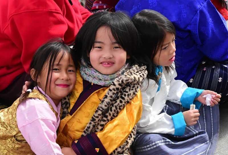 Прямо посреди Королевства Бутан находятся Черные Горы.