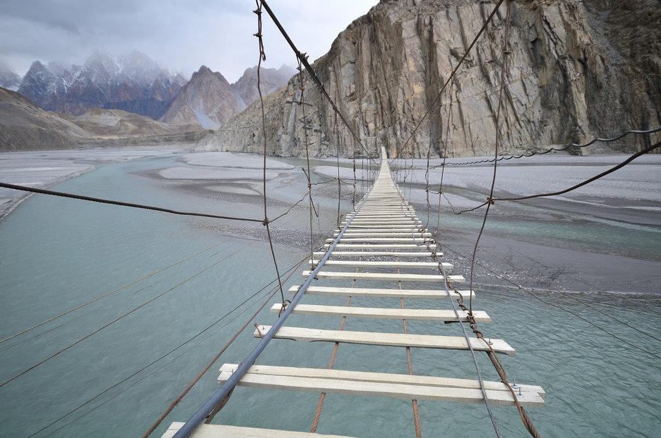 Мост по которому страшно ходить