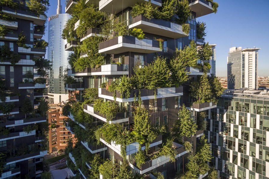 Зеленые дома-сады