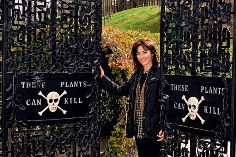 Открыть такой страшный сад решила жена герцога Ральфа Перси Джейн