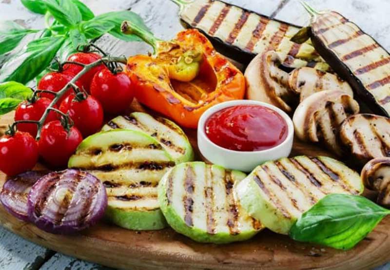 Овощи в качестве закуски