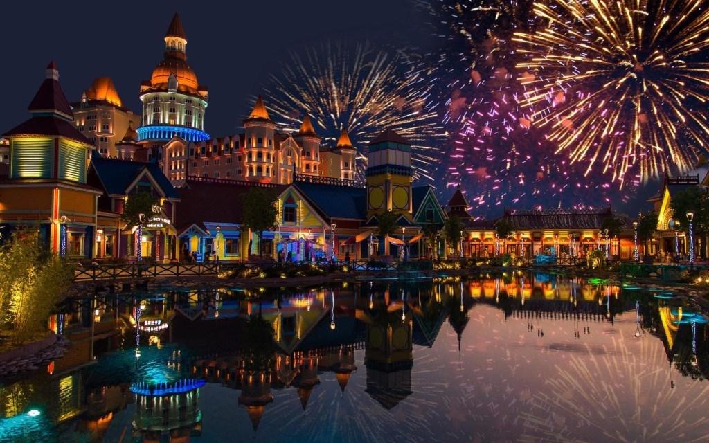 Где в России можно встретить Новый год