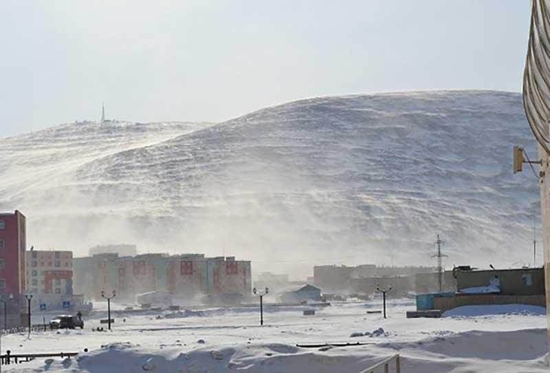 В каком городе России дует самый сильный ветер в мире, под названием Южак