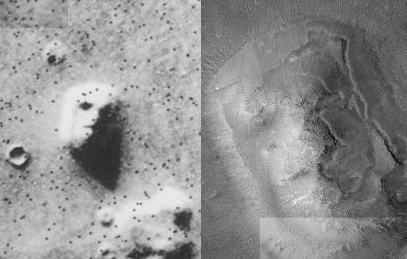 Портрет на Марсе