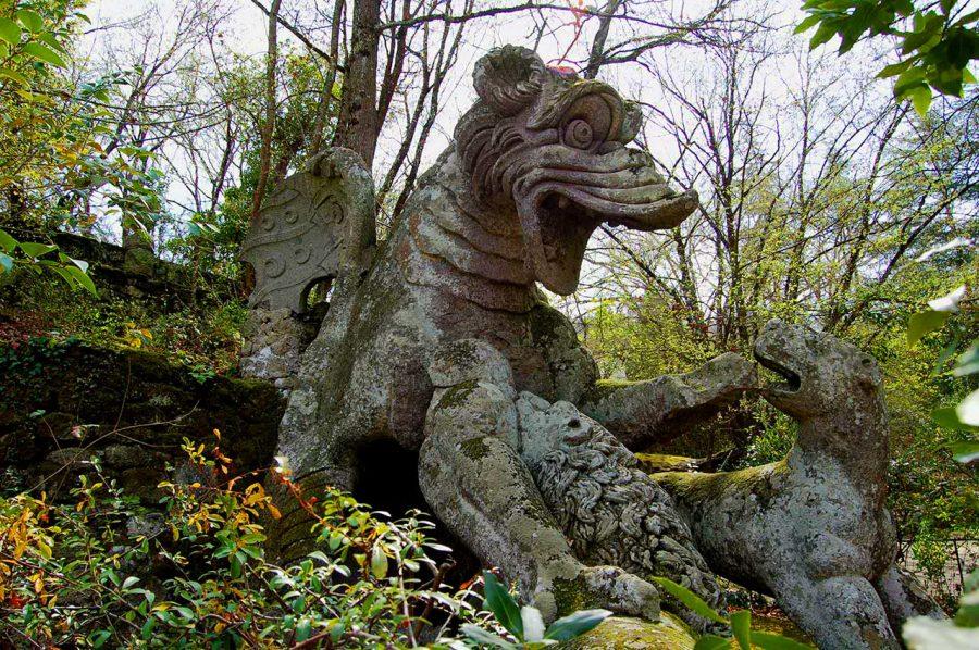 Сад чудовищ в Италии