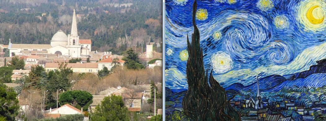 Звездная ночь Ван Гог