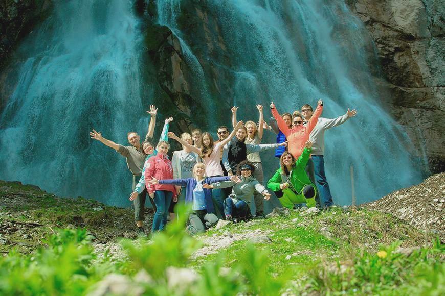 Лагерь в Абхазии